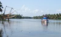 pizhala_pokkali_tourism_chinees_fishnet